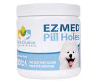 Pet's Choice EZ-MED Pill Holes